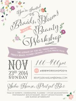 invite BBB email Invite + poster